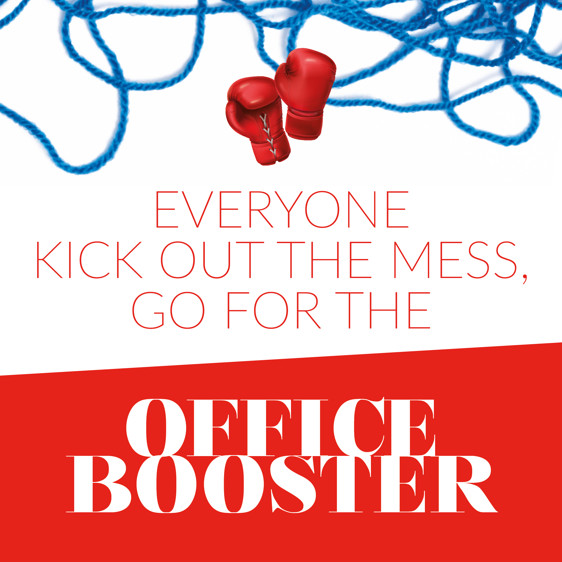 Office Booster - kick out the mess